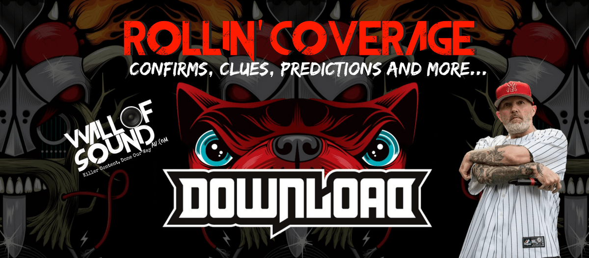 Rollin' Coverage: Download Festival Australia 2019 Confirms, Clues, Predictions and more…
